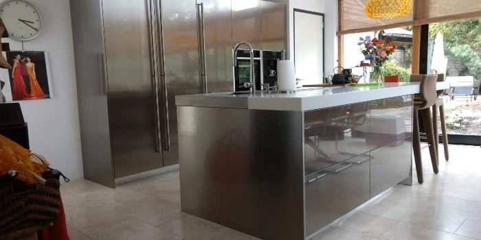 We Supplied An S100 Kitchen To A Customer In Zeist, Who Had Carried Out The  Extensive Conversion Of An Existing House.